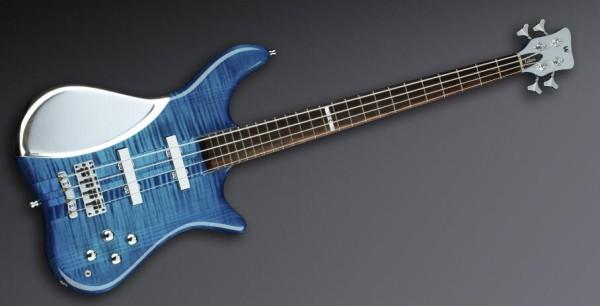Warwick Custom Shop Katana NT, 4-String - Lagoon Blueburst - 14-2514