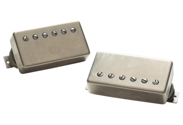 Seymour Duncan APH-2s Slash Alnico II Pro Humbucker Set - Raw Nickel Cover