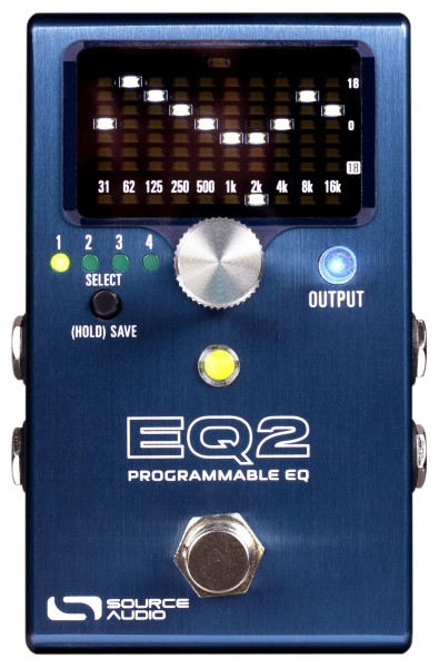 Source Audio SA 270 - One Series EQ2 Programmable Equalizer