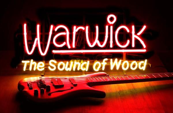 Warwick Promo - Neon Lights (EU Plug / 230V / UP Approved)