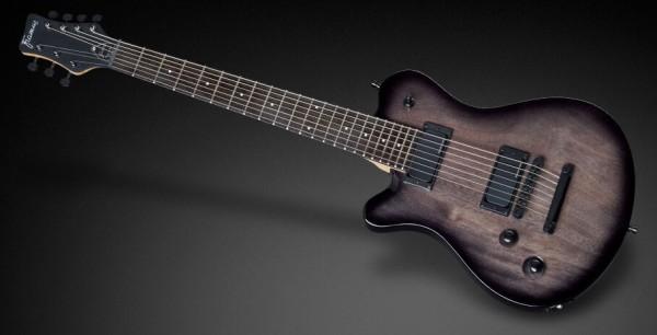 Framus D-Series Panthera 7-String - Solid Black High Polish