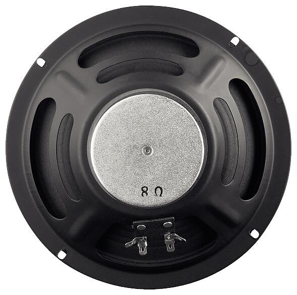 "8"" Speaker / 8 Ohm / 94dB / Range: 75-600 Hz / Resonant Frequency: 120 Hz"