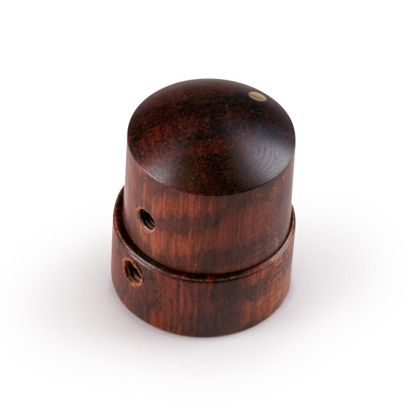 Framus & Warwick Parts - Wooden Stacked Dome Knob - Snakewood