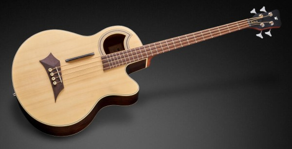 Warwick RockBass Alien Deluxe, 4-String - Natural Transparent Satin
