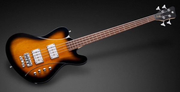 Warwick RockBass Idolmaker, 4-String - Vintage Sunburst Transparent High Polish