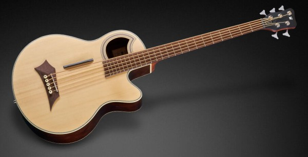 Warwick RockBass Alien Deluxe, 5-String - Natural Transparent Satin