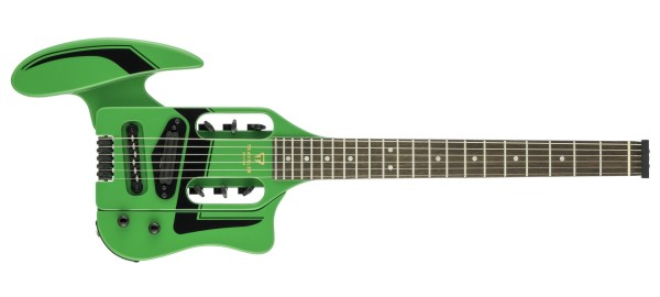 Traveler Guitar - Speedster Deluxe - Daytona Green
