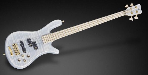 Warwick Custom Shop Streamer LX, 4-String - Transparent White High Polish - 17-3425