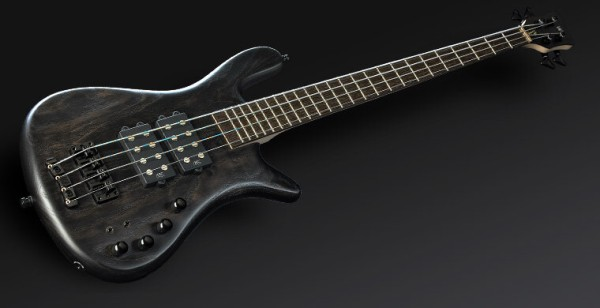 Warwick Masterbuilt Streamer $$, 4-String - Nirvana Black Transparent Satin