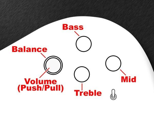 MEC Warwick Streamer FNA Jazzman 3-Way Electronics