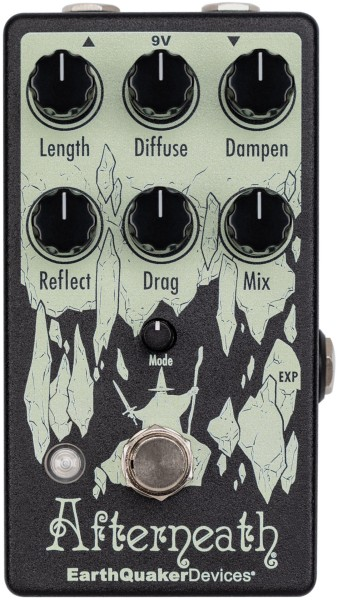 EarthQuaker Devices Afterneath V3 - Enhanced Otherworldly Reverberator