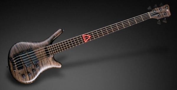 Warwick Custom Shop Thumb NT, 5-String - Nirvana Black Transparent Satin -18-3818