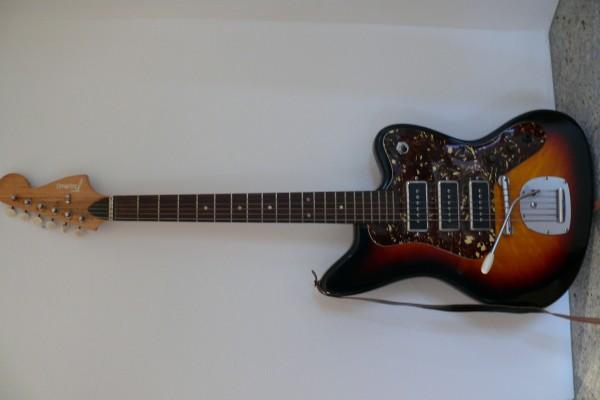 E-Gitarre, Framus Strato 6, mit 3 Pickups, Rarität, Bj.1971
