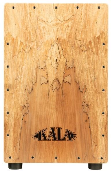KALA KP-CAJON-SPMAPLE - Spalted Maple Cajon, with Bag