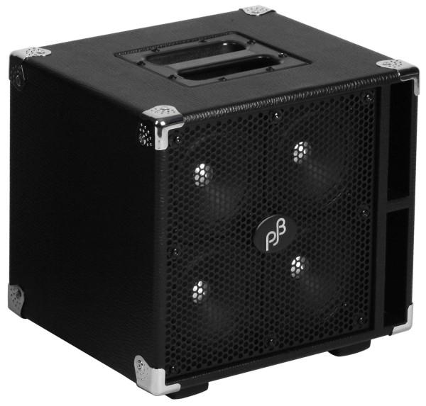 """Phil Jones Bass C4 - Compact 4 Bass Cabinet, 4x5"""", 400 Watt - Black"""