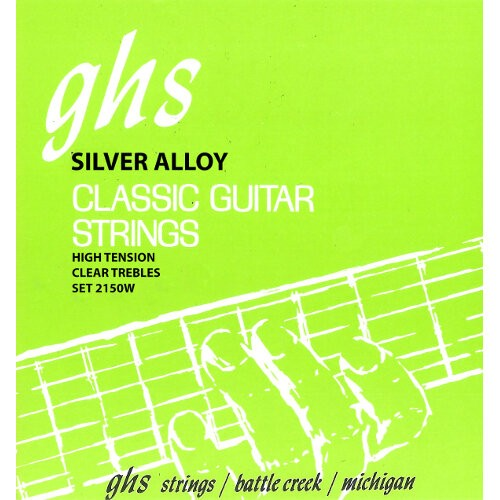 GHS Silver Alloy Classical Guitar String Sets