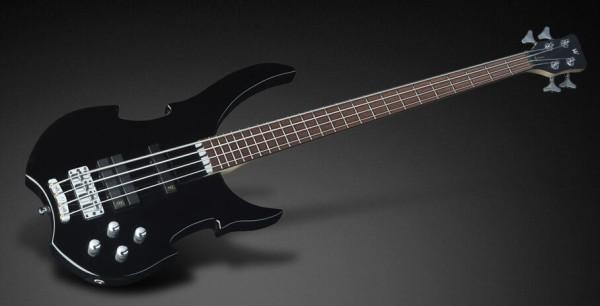 Warwick RockBass Vampyre Dark Lord, 4-String, F#BEA Tuning - Solid Black High Polish