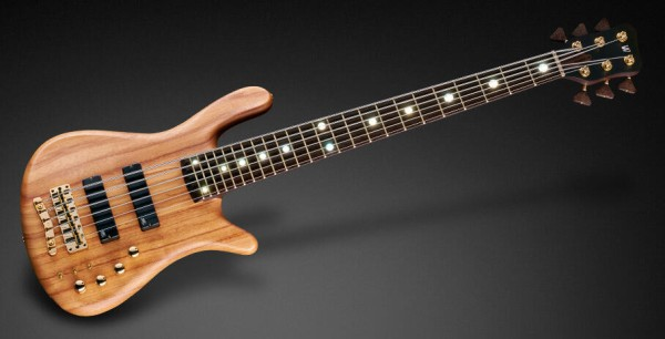 Warwick Custom Shop Streamer Stage II, 6-String - Natural Oil Finish - 18-3951