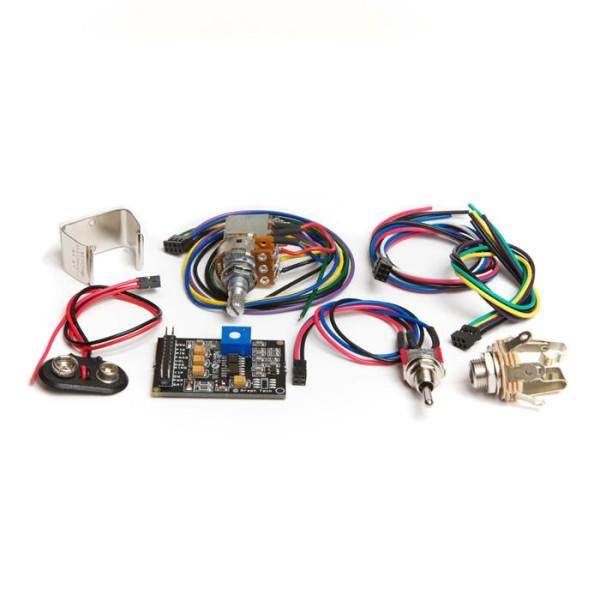 Ghost PK-0240-00 - Acousti-Phonic Preamp Kit for Guitar (Advanced)