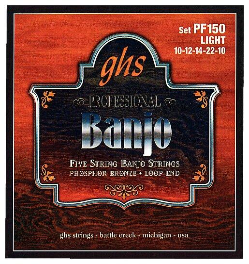 GHS Phosphor Bronze 5-String Banjo Sets