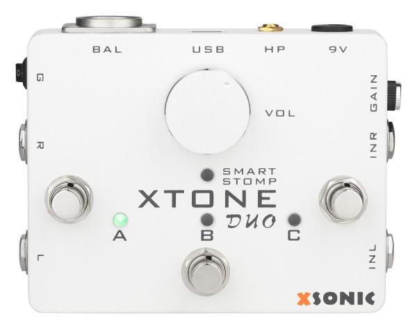 XSonic XTone Duo - Smart Guitar & Mic Audio Interface
