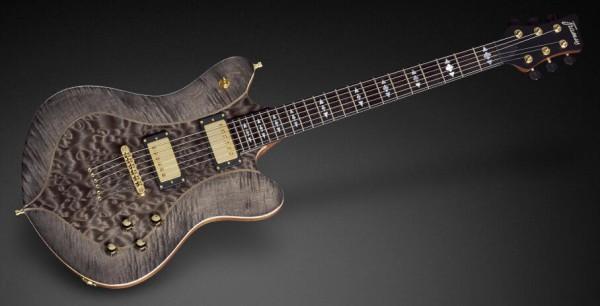 """Framus Masterbuilt William DuVall """"Talisman"""" Signature - Nirvana Black Transparent Satin"""