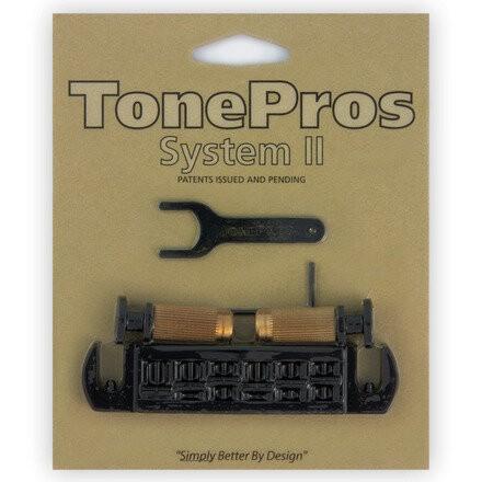 TonePros AVT2P - Wraparound Bridge with SPRS2 Locking Studs (USA P-Style)