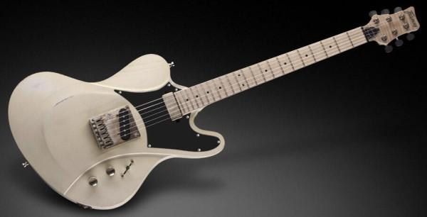 Framus Custom Shop Idolmaker 5'R - Aged Solid Creme White Satin - 14-2730