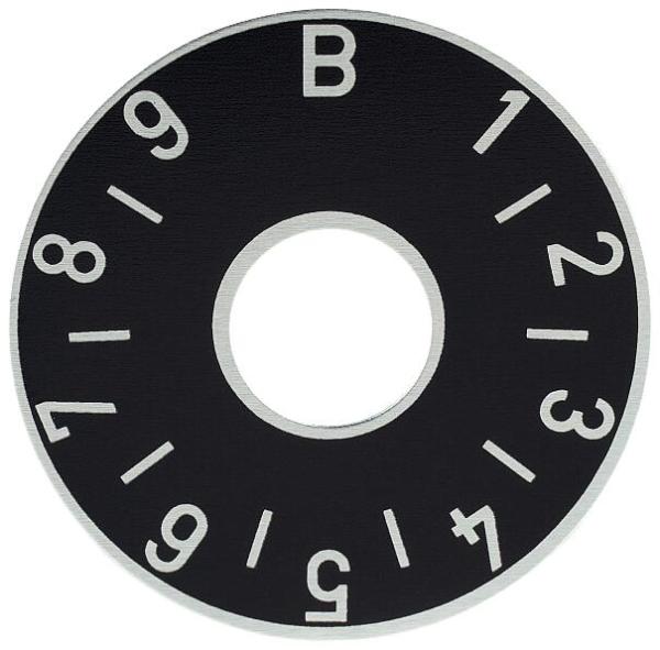 Framus Vintage - Balance Plate / Black