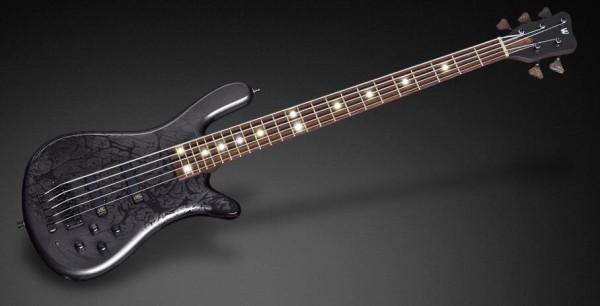 Warwick Custom Shop Streamer LX, 5-String - Storm Galaxy Black High Polish - 16-3282