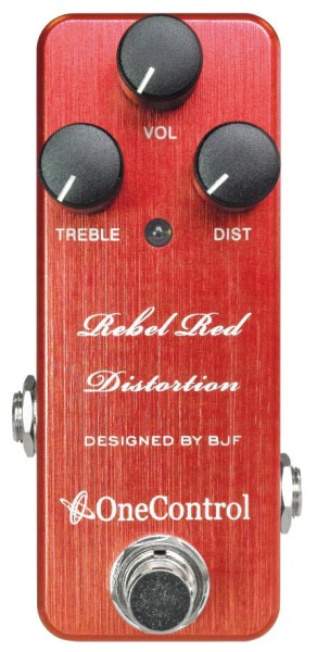 One Control Rebel Red - Distortion