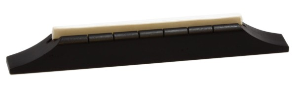 Grover B 3342 - Hardwood Ebonized Acoustic Guitar Bridge
