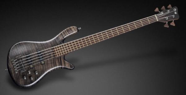 Warwick Custom Shop Streamer LX, 5 strings - Nirvana Black Transparent Satin - 18-3800