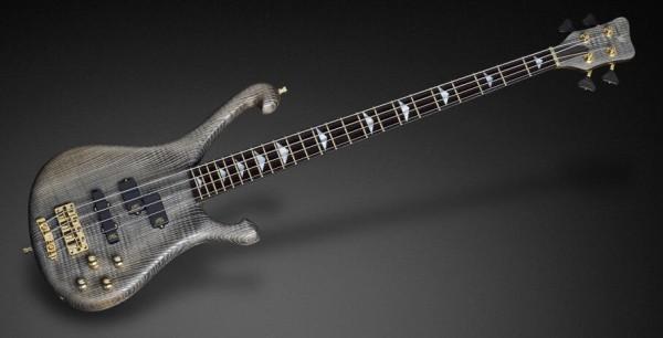Warwick Custom Shop Stuart Zender Signature, 4-String - Sandblasted Nirvana Black - 16-3278