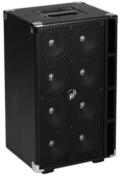 """Phil Jones Bass C8 - Compact 8 Bass Cabinet, 8x5"""", 800 Watt - Black"""
