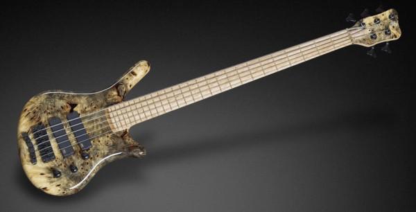 Warwick Custom Shop Thumb NT, 5-String - Natural High Polish - 16-3241