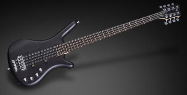 Warwick RockBass Corvette Basic, 8-String - Nirvana Black Transparent Satin