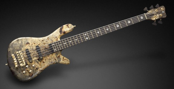 Warwick Custom Shop Streamer Stage II, 5-String - Stone Bleached Natural Transparent Satin - 16-3035
