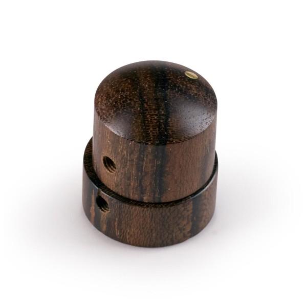 Framus & Warwick Parts - Wooden Stacked Dome Knob - Ziricote