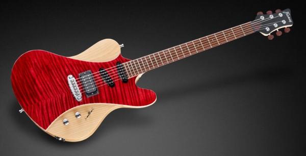 Framus Masterbuilt Idolmaker 5'R - Burgundy Red Transparent High Polish / Satin Back & Sides