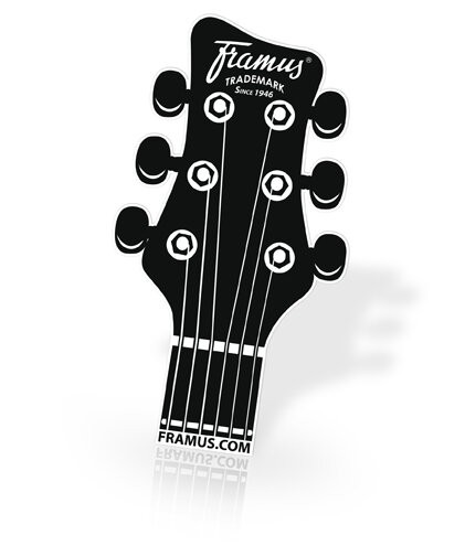 Framus Promo - Headstock Stickers