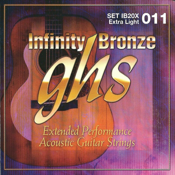 GHS Infinity Bronze Acoustic Guitar String Sets