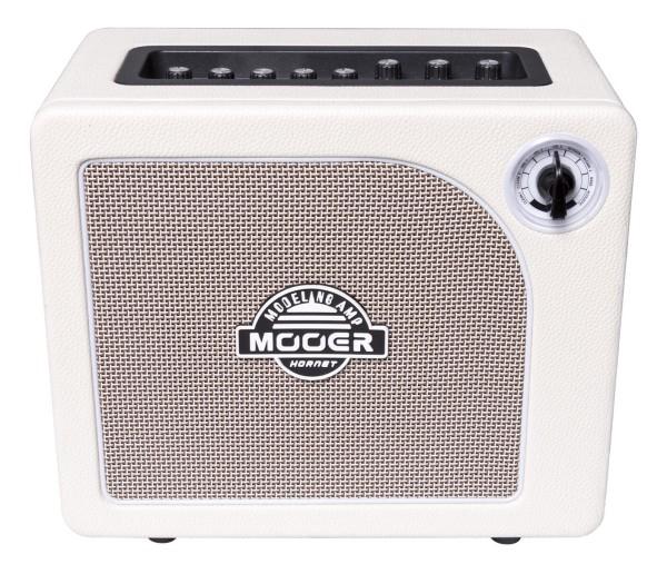Mooer Hornet White - 15 Watt Modeling Guitar Amplifier - White