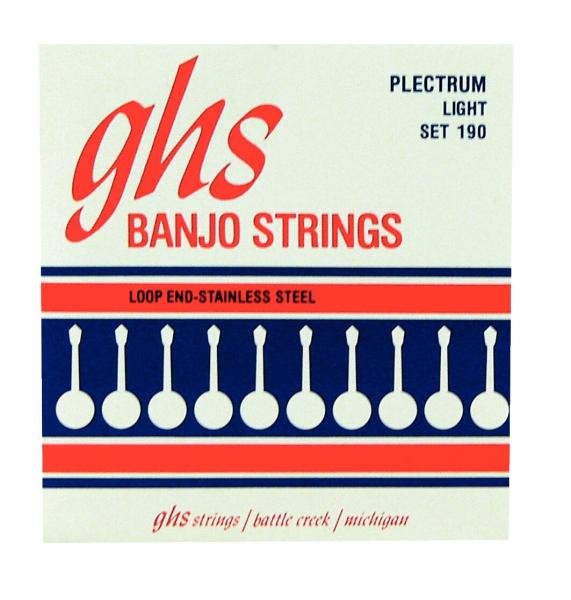 GHS Stainless Steel Banjo String Sets