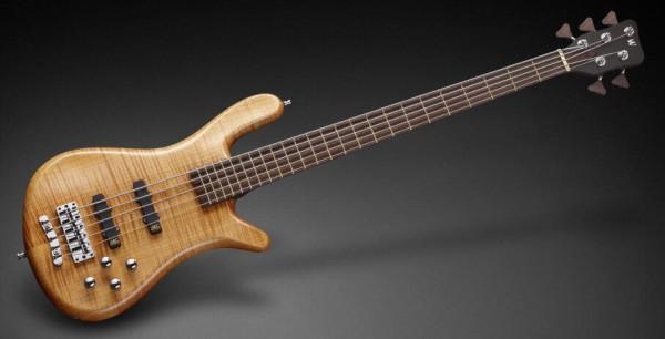 Warwick Masterbuilt Streamer LX, 5-String - Honey Violin Transparent Satin