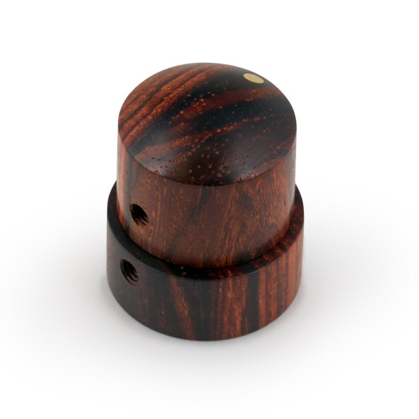 Framus & Warwick Parts - Wooden Stacked Dome Knob - Cocobollo