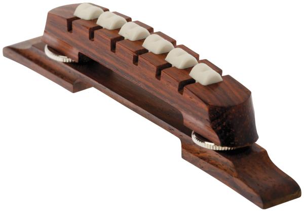 Framus Vintage: Archtop Guitar Bridge, 6-string / Rosewood
