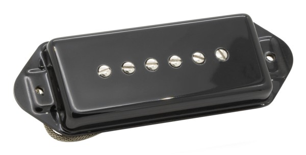 Seymour Duncan Antiquity Retrospec'd P90 Dog-Ear - Neck Pickup - Black