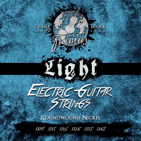 Framus Blue Label Electric Guitar String Sets, Nickel-Plated Steel - 6-String