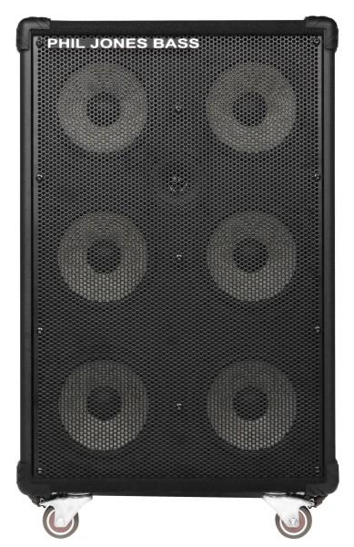 """Phil Jones Bass CAB-67 - Bass Cabinet, 6x7"""", 500 Watt"""